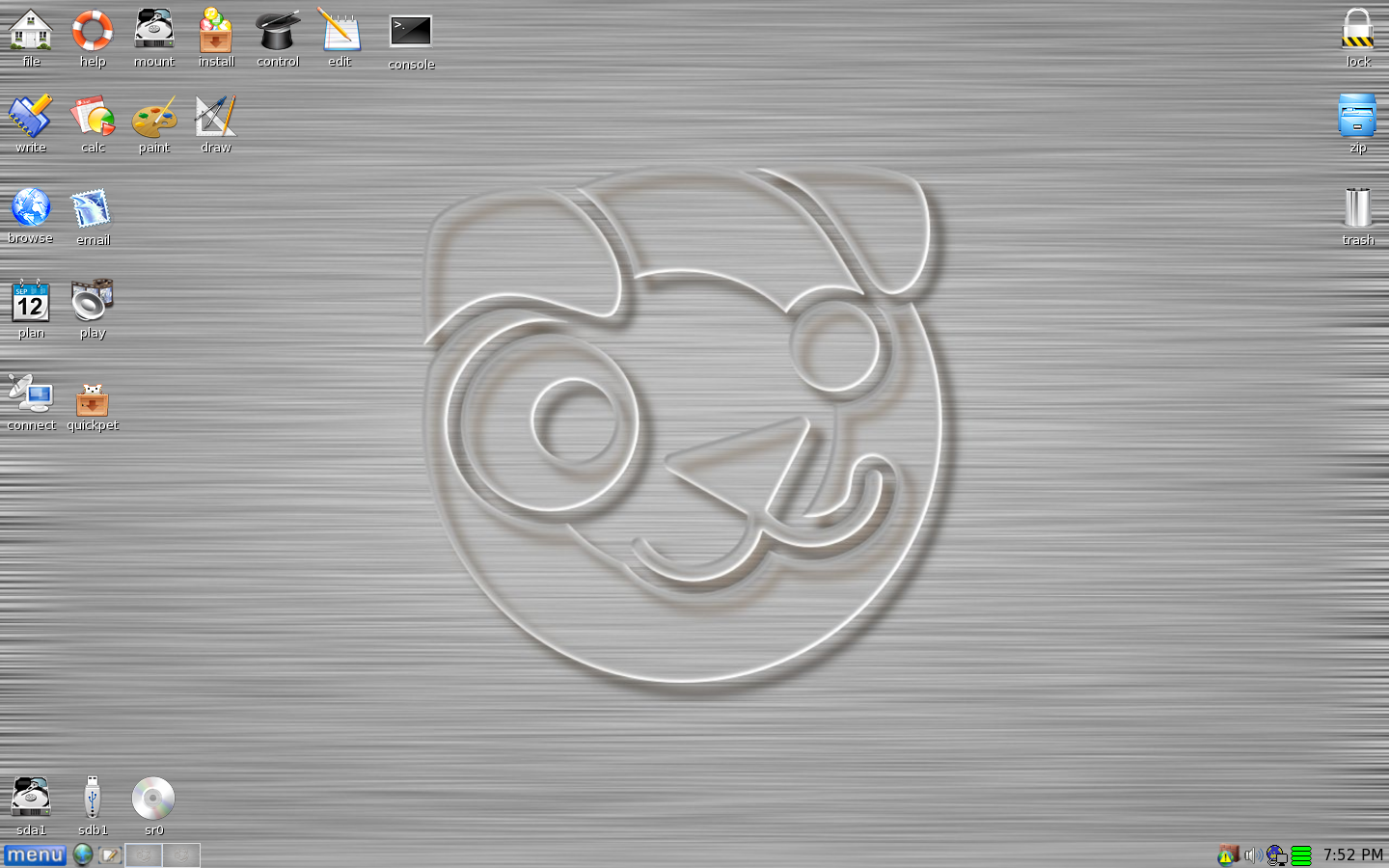 Puppy Linux 5.2.8